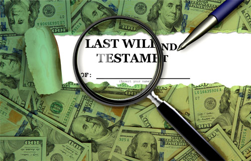 A will frequently reduces expenses.