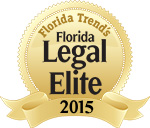 The Florida Legal Elite list includes fewer than 2% of active Florida Bar members practicing in the state.