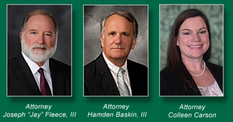 "BaskinFleece partners Hamden H. Baskin, III, Joseph W. ""Jay"" Fleece, III, and Colleen A. Carson were all included in Super Lawyers' annual ranking of Florida attorneys."