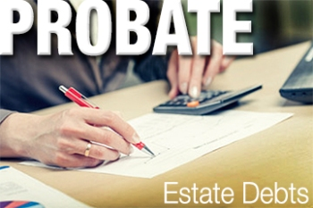Probate decedents finances